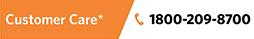 Customer Service: 1800-209-8700